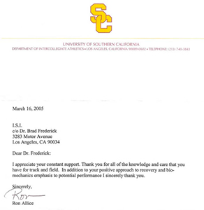 Dear Dr. Frederick, I appreciate your constant support. Thank you for ...